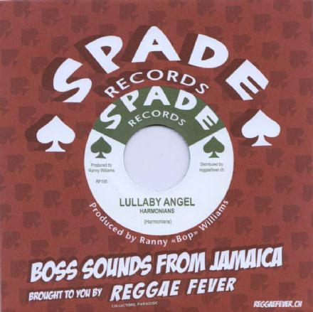 SALE ITEM - Harmonians - Lullaby Angel (Spade/ Reggae Fever) 7""